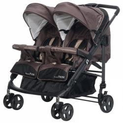 Baby Plus kočárek CompactTwin Cacao H 14 - 01