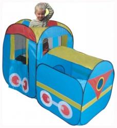 Dětský stan > varianta Lokomotiva
