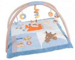 NATTOU Hrací deka s hrazdou Artur a Louis