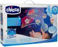 CHICCO MAGIC STARS Kolotoč nad postýlku